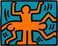 Post-War & Contemporary:Pop, Keith Haring (1958-1990). Untitled, from the Pop ShopVI series, 1989. Screenprint in colors on wove paper. 11-1/2x...