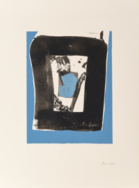 Robert Motherwell (1915-1991) Untitled, from The Basque Suite, circa 1971 Screenprint in