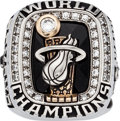 Basketball Collectibles:Others, 2012 Miami Heat NBA Championship Ring....