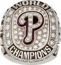 Baseball Collectibles:Others, 2008 Philadelphia Phillies World Series Championship Ring....