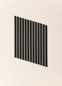 Donald Judd (1928-1994) Untitled, 1974 Aquatint on wove paper 35-1/4 x 23-1/8 inches (89.7 x 58.7