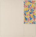 Prints:Contemporary, Jasper Johns (b. 1930). #5 (after 'Untitled 1975'), from6 Lithographs (after 'Untitled 1975'), 1976. Lithograph in...