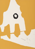 Prints:Contemporary, Robert Motherwell (1915-1991). Untitled, from Ten Worksby Ten Painters, 1964. Screenprint in colors with collage on...
