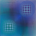 Post-War & Contemporary:Contemporary, Victor Vasarely (1906-1997). Hommage à Picasso, 1974.Screenprint in colors. 19-3/4 x 19-3/4 inches (50 x 50 cm). Ed.XX...
