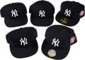 Baseball Collectibles:Hats, 2000's Bobby Murcer Personal New York Yankees Caps Lot of 10 fromThe Bobby Murcer Collection. ...