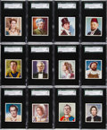 "Non-Sport Cards:Sets, 1938 Godfrey ""Characters Come To Life"" SGC Graded Complete Set(36). ..."