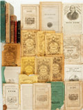 Books:Reference & Bibliography, [References]. Group of Twenty-four Reference Books and Almanacs.Various publishers and dates [1822-1935].... (Total: 24 Items)