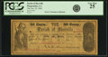 Obsoletes By State:Louisiana, Plaquemine, LA - Parish of Iberville 50 Cents Jan. 20, 1862. PCGS Very Fine 25.. ...