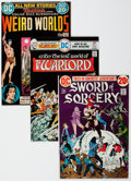 Bronze Age (1970-1979):Adventure, DC Bronze Age Sword and Sorcery Comics Group of 18 (DC, 1970s) Condition: Average NM-.... (Total: 18 Comic Books)