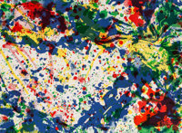 Sam Francis (1923-1994) Untitled, from the Papierski Portfolio (SF-355), 1992 Lithograph