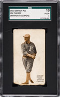 Baseball Cards:Singles (Pre-1930), 1922 E137 Zeenut PCL Jim Thorpe SGC 10 Poor 1 - A Newly DiscoveredExample! ...