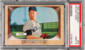 Baseball Cards:Singles (1950-1959), 1955 Bowman Whitey Ford #59 PSA Mint 9 - Only One Higher....