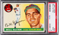 Baseball Cards:Singles (1950-1959), 1955 Topps Bill Glynn #39 PSA Mint 9 - None Higher....