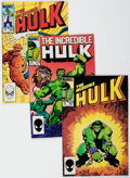 Modern Age (1980-Present):Superhero, The Incredible Hulk Box Lot (Marvel, 1983-86) Condition: AverageVF/NM....