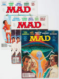 Magazines:Mad, MAD #200-299 Short Box Group (EC, 1978-1990) Condition: Average VF....