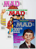Magazines:Mad, MAD #300-537 Short Box Group (EC, 1991-2016) Condition: AverageVF/NM.... (Total: 2 Box Lots)