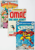 Bronze Age (1970-1979):Miscellaneous, DC Bronze Age First Issue Group of 22 (DC, 1970s) Condition:Average FN+.... (Total: 22 Comic Books)