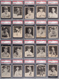Baseball Cards:Sets, 1939 Play Ball Baseball High Grade Complete Set (161) With 136Graded Cards. ...