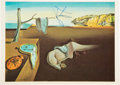 "Baseball Collectibles:Others, 1970's Salvador Dali Signed ""The Persistence of Memory"" Print...."