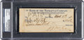 Baseball Collectibles:Others, 1931 John McGraw Signed Check. ...