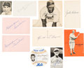 Baseball Collectibles:Photos, 1940's-'50's Baseball Stars Autograph Collection with JackieRobinson (200+ Signatures). ...
