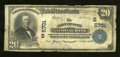 National Bank Notes:West Virginia, Point Pleasant, WV - $20 1902 Plain Back Fr. 659 The Point PleasantNB Ch. # (S)5701. A well circulated, but intact exam...