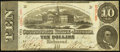 Confederate Notes:1863 Issues, Double Issue Date T59 $10 1863 PF-12 Cr. 440.. ...