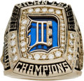 Baseball Collectibles:Others, 2006 Detroit Tigers American League Championship Ring Presented toPete Incaviglia. ...