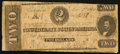 Confederate Notes:1862 Issues, T54 $2 1862 PF-3 Cr. 394.. ...