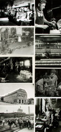 Books:Prints & Leaves, [Factories and Factory Workers]. Collection of Seventy-SevenPhotographs and Press Prints Relating to Factories and FactoryWo...