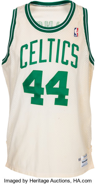 low priced 43044 63e2f 1989-90 Danny Ainge Signed Game Issued Boston Celtics Jersey ...