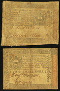 Colonial Notes:Pennsylvania, Pennsylvania October 1, 1773.. ... (Total: 2 notes)