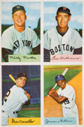 Baseball Cards:Lots, 1954 Bowman Baseball Uncut Panel With Mickey Mantle and Ted Williams. ...
