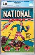 Golden Age (1938-1955):Superhero, National Comics #14 San Francisco Pedigree (Quality, 1941) CGC VF/NM 9.0 Off-white to white pages....