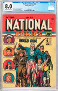 Golden Age (1938-1955):Superhero, National Comics #25 (Quality, 1942) CGC VF 8.0 Off-white to white pages....