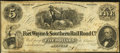 Obsoletes By State:Indiana, Muncie, IN- Fort Wayne & Southern Rail Road Co. $5 Oct. 2, 1854. ...