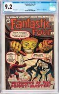 Silver Age (1956-1969):Superhero, Fantastic Four #8 (Marvel, 1962) CGC NM- 9.2 White pages....