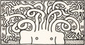 Prints, Keith Haring (1958-1990). Medusa Head, 1986. Aquatint on Hahnemühle paper. 50-1/4 x 93-3/4 inches (127.6 x 238.1 cm) (pl...