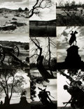 Books:Photography, [Civil War Battlefields]. Kosti Ruohomaa, photographer (1913 - 1961). Collection of Nine Black Star Agency Photographs by Ruoh...