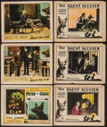 """Movie Posters:Adventure, The Sign of the Claw & Other Lot (Lumas, 1926). Title LobbyCard & Lobby Cards (5) (11"""" X 14""""). Adventure.. ... (Total: 6Items)"""