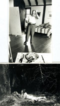 Books:Prints & Leaves, [Photography]. Margery Lewis, photographer. Pair of PortraitsDepicting Painter Paul Burlin and Poet Carolyn Stoloff....