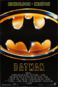"""Movie Posters:Action, Batman (Warner Brothers, 1989). One Sheet (27"""" X 40.5"""") SS.Action.. ..."""