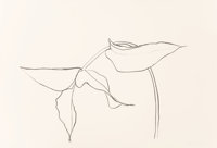 Ellsworth Kelly (1923-2015) Philodendron I, 1984 Lithograph on Rives BFK paper 25 x 36 inches (63
