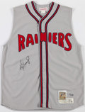 Baseball Collectibles:Uniforms, Ken Griffey Jr. Signed Seattle Rainiers Jersey....
