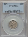 Three Cent Nickels: , 1872 3CN MS63 PCGS. PCGS Population (64/91). NGC Census: (31/72). Mintage: 861,000. Numismedia Wsl. Price for problem free ...