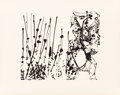 Prints:Contemporary, After Jackson Pollock (1912-1956). Untitled Portfolio, 1951.The complete set of six screenprints on Strathmore paper, f...(Total: 6 Items)