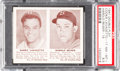 Baseball Cards:Singles (1940-1949), 1941 Double Play Lavagetto/Reiser #17/18 PSA NM-MT+ 8.5 - Only One Higher. ...
