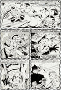 Original Comic Art:Panel Pages, John Buscema and Dan Adkins Silver Surfer #15 Page 5Original Art (Marvel, 1970)....