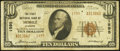 National Bank Notes:Alabama, Mobile, AL - $10 1929 Ty. 2 The First NB Ch. # 1595. ...