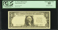 Error Notes:Missing Third Printing, Fr. 1913-J $1 1985 Federal Reserve Note. PCGS Choice About New 55.. ...